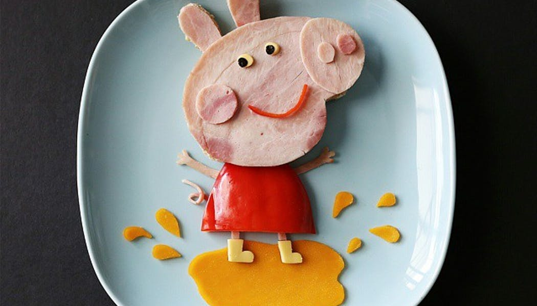 peppa pig repas