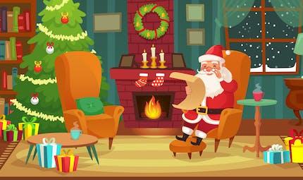 Petit conte de Noël : les amis du Père Noël