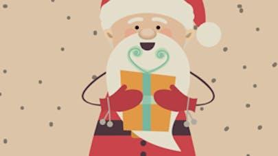 Comptine Petit papa Noël