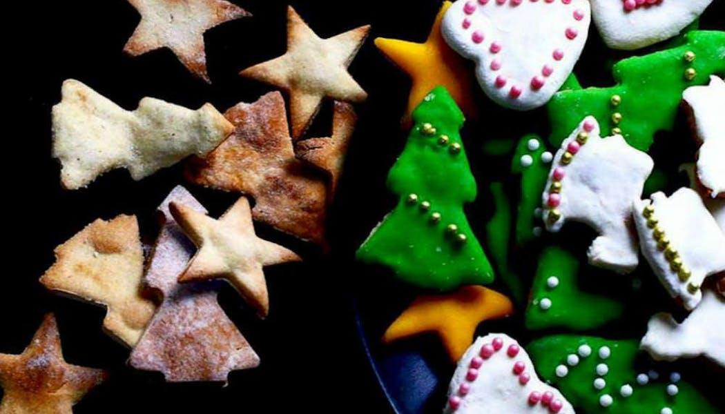 Petits biscuits de Noël vegan