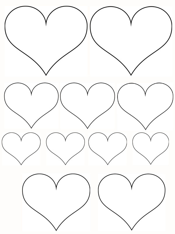 Petits Coeurs Et Coeur Gros Momes Net