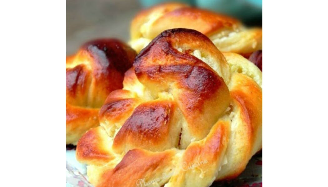 Petits pains briochés coco-citron