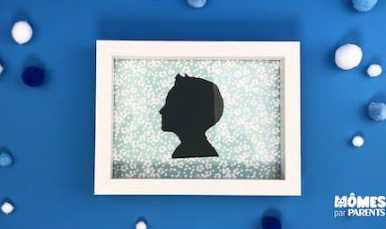 Photo silhouette visage