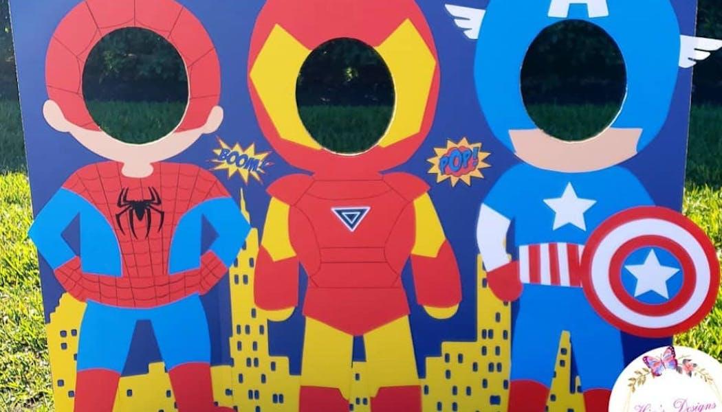 Photobooth de super-héros