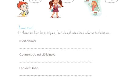 Phrases exclamatives