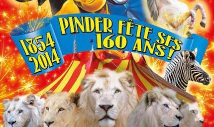 Pinder fête ses 160 ans !