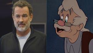 Pinocchio de Disney, Tom Hanks futur Geppetto ?