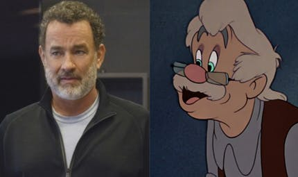 Pinocchio de Disney, Tom Hanks futur Geppetto ?