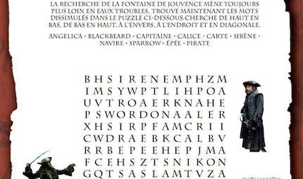 Pirates des Caraïbes : mot caché