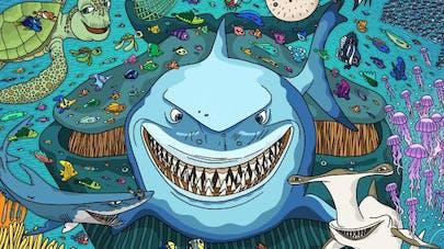 illustration pixar où est Nemo occuper les enfants       coronavirus