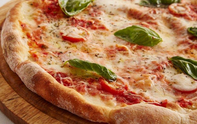Pizza ultra rapide aux poivrons