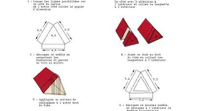 fabriquer un kaleidoscope