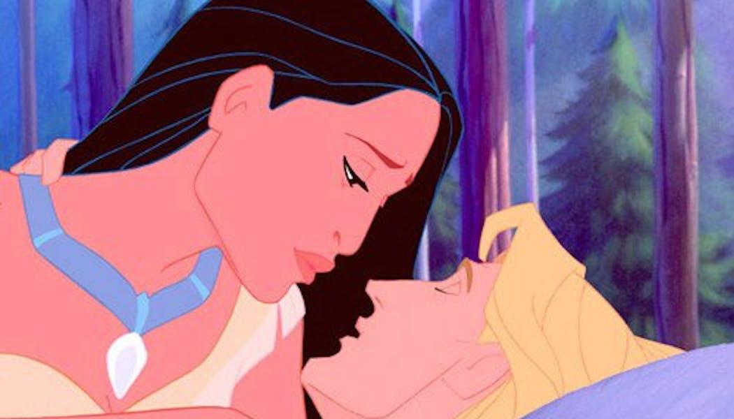 Pocahontas et John Smith (Pocahontas)