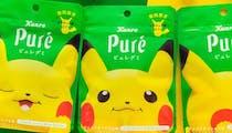 Pokémon : bientôt des bonbons Pikachu goût électrique