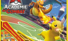 Pokémon lance l'Académie de Combat, son tout premier jeu de plateau