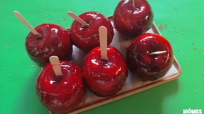 La pomme d'amour façon fête foraine