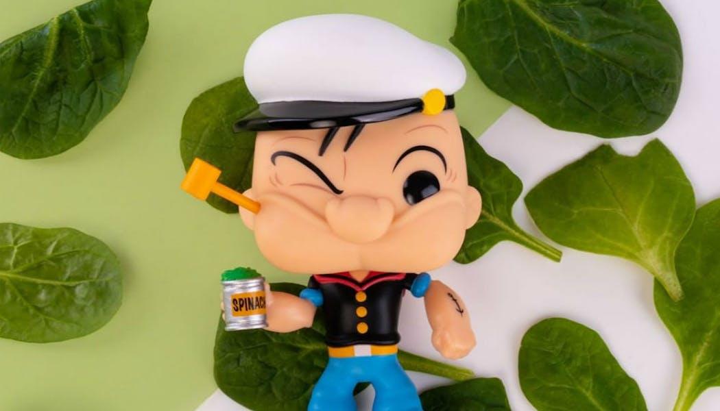 Popeye, petit mais costaud !