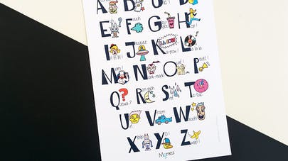 abecedaire à imprimer
