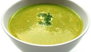 Potage aux courgettes, un bon moyen de faire manger des légumes
