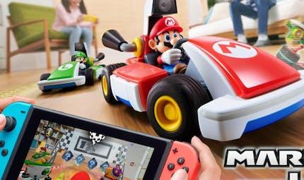 Pour les 35 ans de Mario Bros, Nintendo lance une version de Mario Kart qui transforme votre salon en véritable circuit !