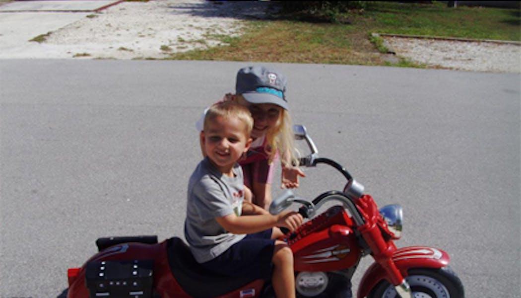 Power wheels motorcycle de Fisher Price