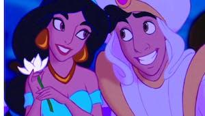 Quand Aladdin demande Jasmine en mariage pour de vrai !