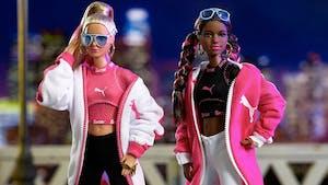 Quand Barbie et Puma s'associent pour donner naissance à 2 poupées...