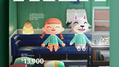 Ikea catalogue version Animal Crossing: New Horizons       Nintendo