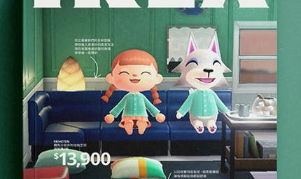 Quand Ikea s'amuse à recréer son catalogue avec des personnages d'Animal Crossing !