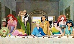 Quand les personnages de Disney envahissent de célèbres toiles...