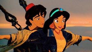 Quand les personnages Disney prennent la place des acteurs de films...