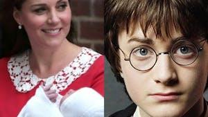 Quel étrange lien unit le Royal Baby à Harry Potter ?