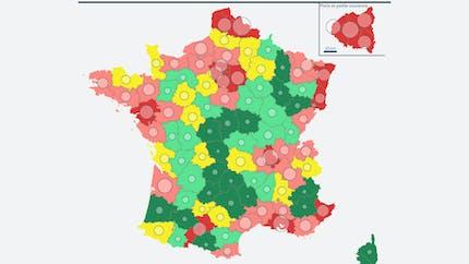 Quelle est la répartition géographique de la population en France ?