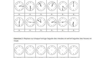 Image Quelle heure est-il ?