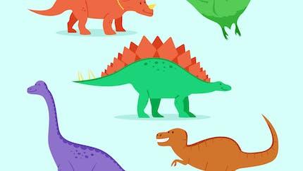 Quelles sont les principales espèces de dinosaures ?