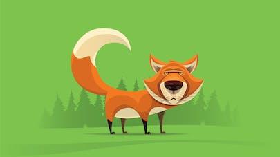 Jeu de relais la queue de renard