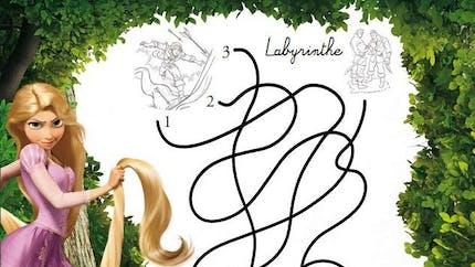 Raiponce : le labyrinthe