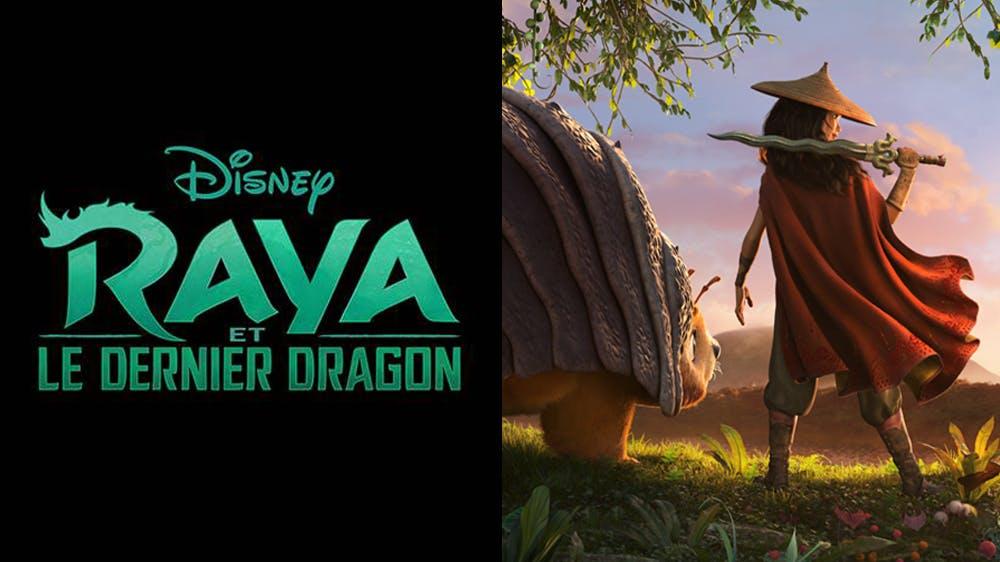 Raya et le dernier dragon : Disney dévoile la première image de son nouveau film d'animation   MOMES.net