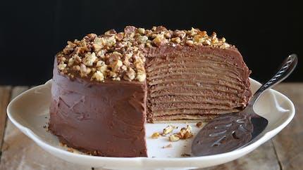 Recette du gâteau de crêpes