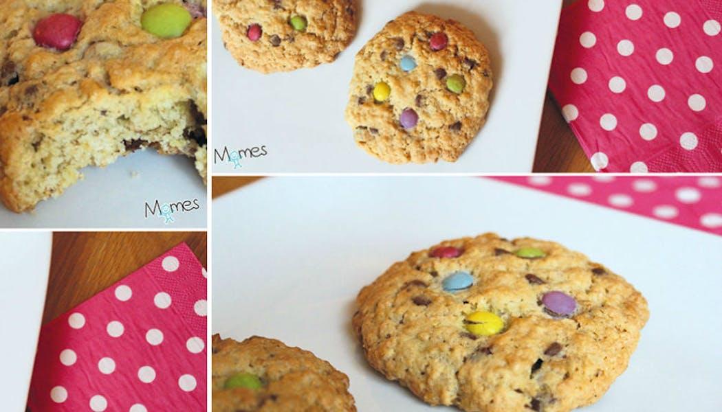 Recette : les cookies d'avoine aux smarties®