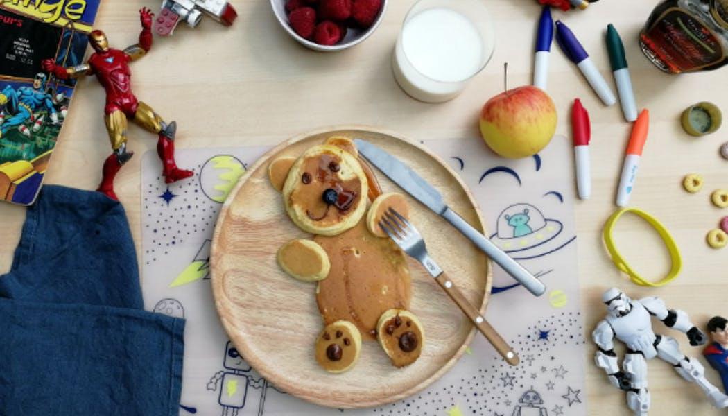 Recette : les pancakes ourson