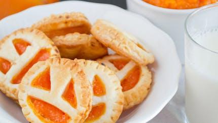 Sablés d'Halloween à la confiture d'abricot