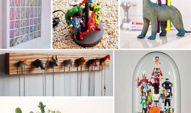 Recycler les figurines en plastique