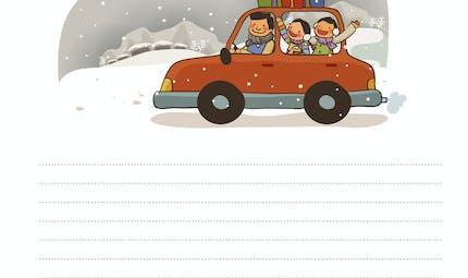 Rédaction à partir d'une image : la voiture