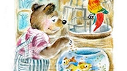 Rédaction : un ourson à la maison