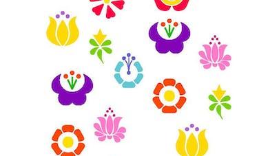 Retrouve les paires de fleurs