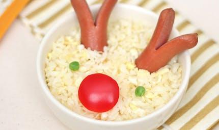 Le risotto de Rudolphe le petit renne