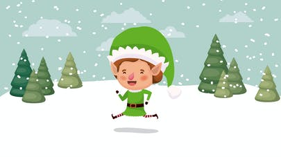 Image lutin de Noël