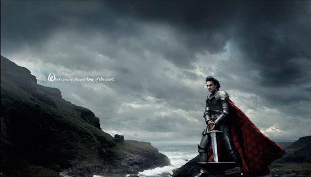 Roger Federer (Le Roi Arthur dans Merlin       l'enchanteur)