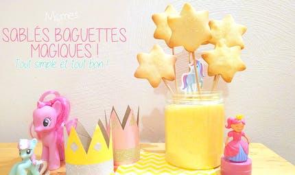Sablés Baguette Magique !
